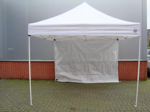 Partytent wit 3x3 mtr.